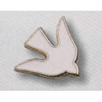 Pin's Colombe blanche